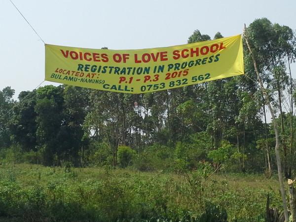 Voices of Love School   Scott Brookins Ministries